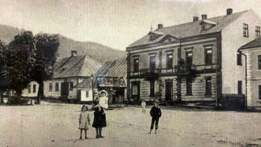 Rynek w Makowie dawniej