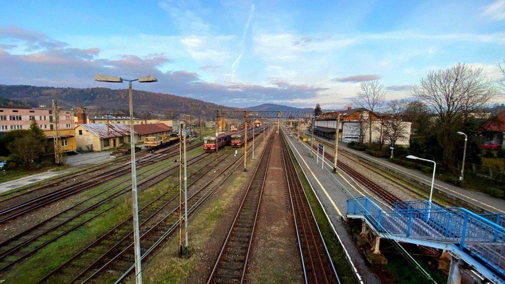 Stacja kolejowa Sucha Beskidzka