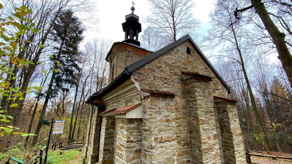 Kapliczka na górze Jasień