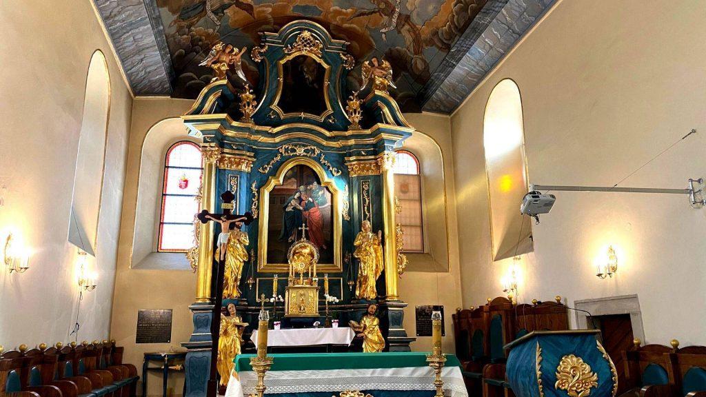 Staty kościół Sucha Beskidzka